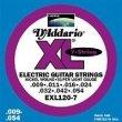 D'Addario EXL120-7 Struny do gitary elektrycznej 7-strunowej