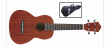 IBANEZ UKC10 UKULELE CONCERT - NATURAL LOW GLOSS