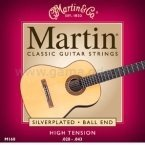 Martin M-160 struny gitary klasycznej silverplated