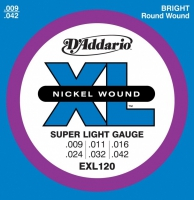 D'Addario EXL (09-42) Nickel Wound