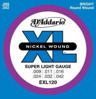 D'Addario EXL (09-42) Nickel Wound