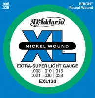 D'Addario EXL (08-38) Nickel Wound