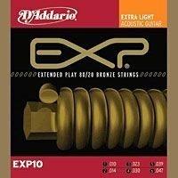 D'Addario EXP10 Struny do gitary akustycznej