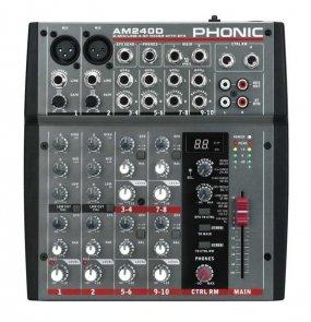 PHONIC Mikser z procesorem efektów AM 240D