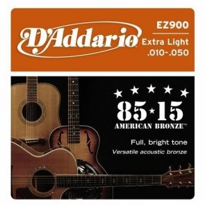D`Addario EZ900 super light 10-50