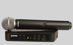 SHURE BLX 24E/SM 58 Wokalowy system bezprzewodowy