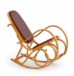 Fotel bujany z drewna giętego MAX BIS PLUS olcha
