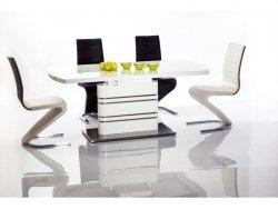 Stół rozkładany GUCCI 180(240)x90 biały