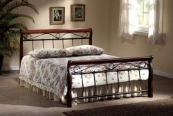 Łóżko VENECJA 140x200 czereśnia antyczna