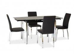 Stół rozkładany GD019 czarny