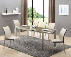 Stół rozkładany ARABIS jasny brąz/beżowy