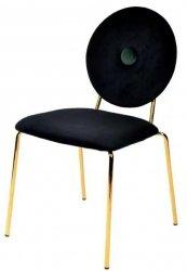 Krzesło BAROCCO czarny/złoty