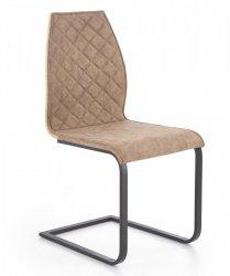 Krzesło K265 dąb miodowy/brązowy/czarny