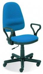 Fotel biurowy BRAVO C6 niebieski