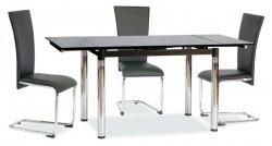 Stół rozkładany GD018 czarny