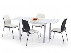 Stół rozkładany L31 biały/chrom