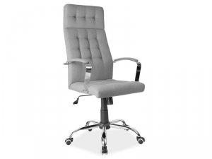 Fotel obrotowy tkanina/TILT Q136 szary