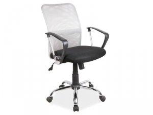 Fotel obrotowy Q078 szaro-czarny