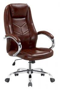 Fotel gabinetowy CODY brązowy