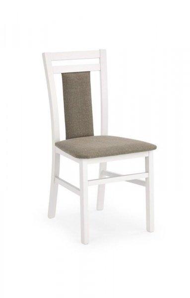 Krzesło HUBERT 8 biały/tap. inari 23
