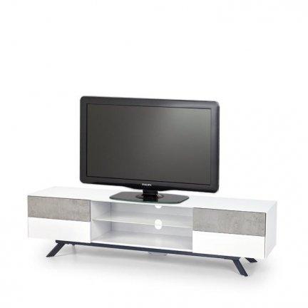 Stolik STONNO RTV1 biały/beton