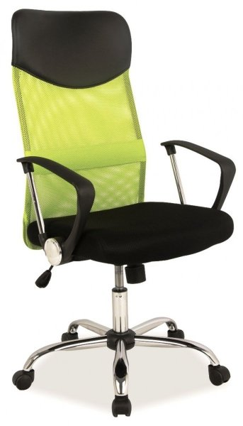 Q-025 Fotel gabinetowy zielony