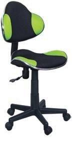 Fotel gabinetowy Q-G2 czarno-zielony