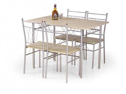 Zestaw FAUST stół + 4 krzesła