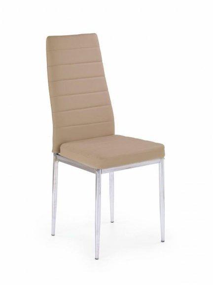 Krzesło metalowe K70C ciemny beż