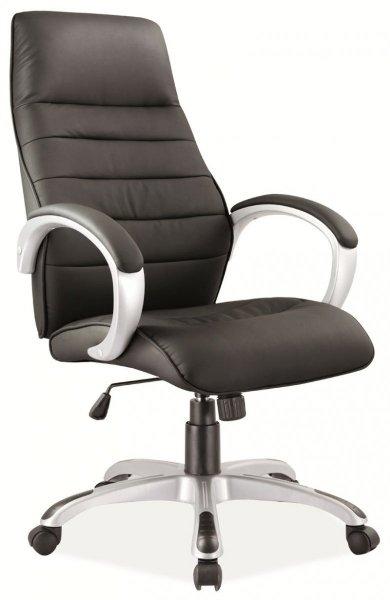Fotel gabinetowy obrotowy Q-046 Czarny