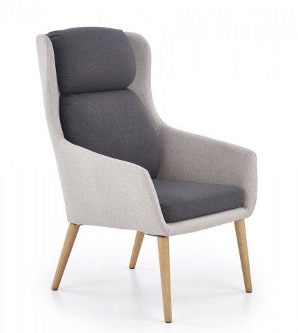 Fotel wypoczynkowy PURIO popielaty