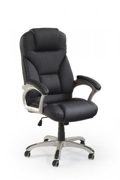 DESMOND Fotel gabinetowy czarny