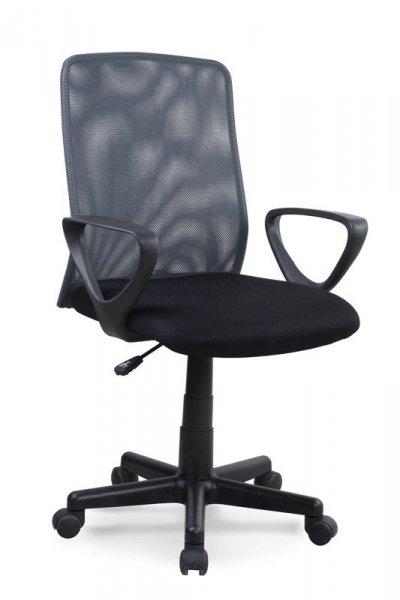 Fotel biurowy ALEX czarny/szary