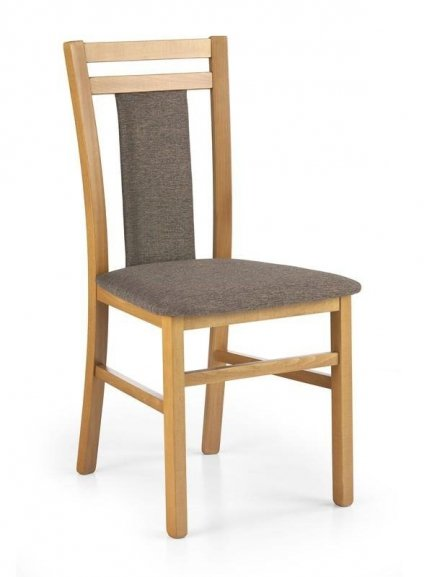 Krzesło HUBERT8 olcha/tap. 609