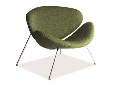 Fotel tapicerowany Major zielony