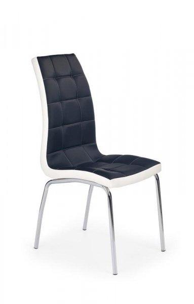Krzesło K186 czarno-białe