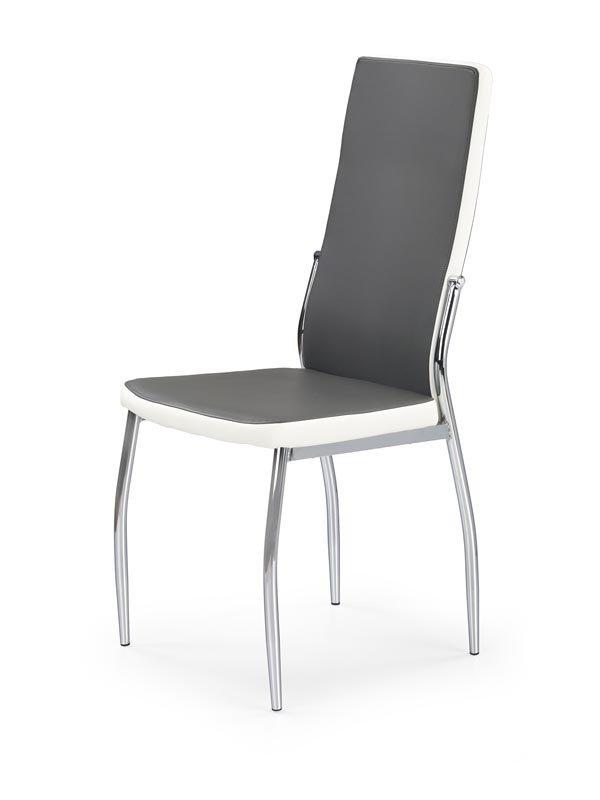 Krzesło K210 popielato-białe