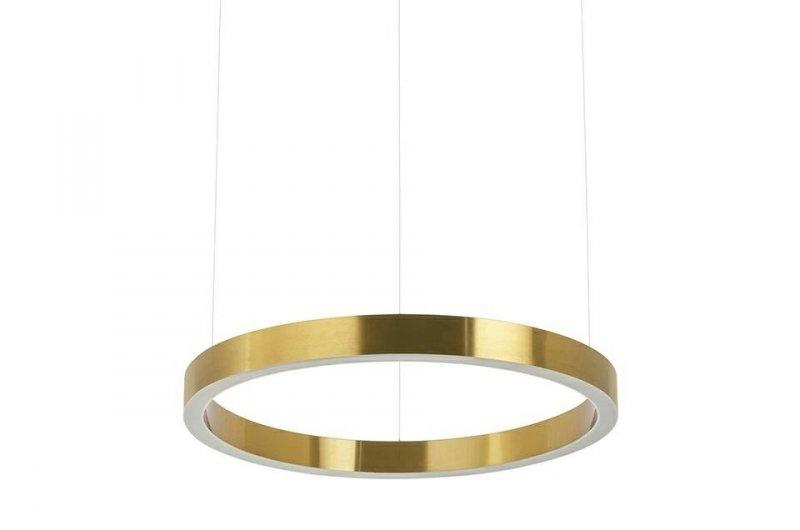 Lampa wisząca RING 60 złota