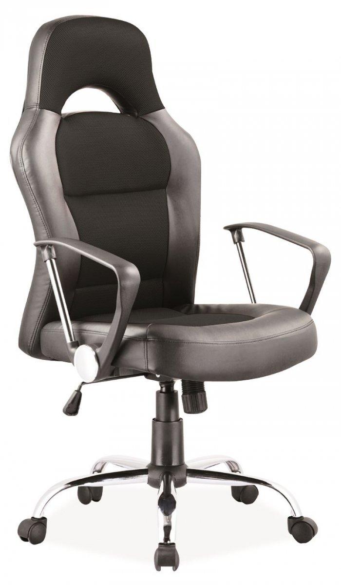 Fotel obrotowy Q-033 czarny