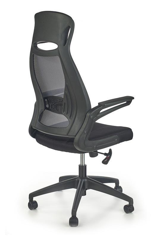 Fotel biurowy SOLARIS czarno-popielaty