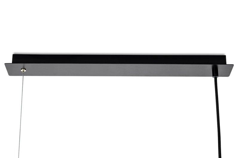 Lampa wisząca FENIX czarno-złota
