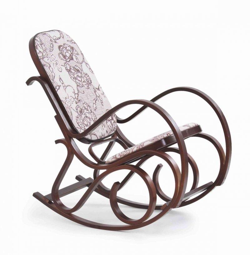 Fotel bujany MAX 2 orzech