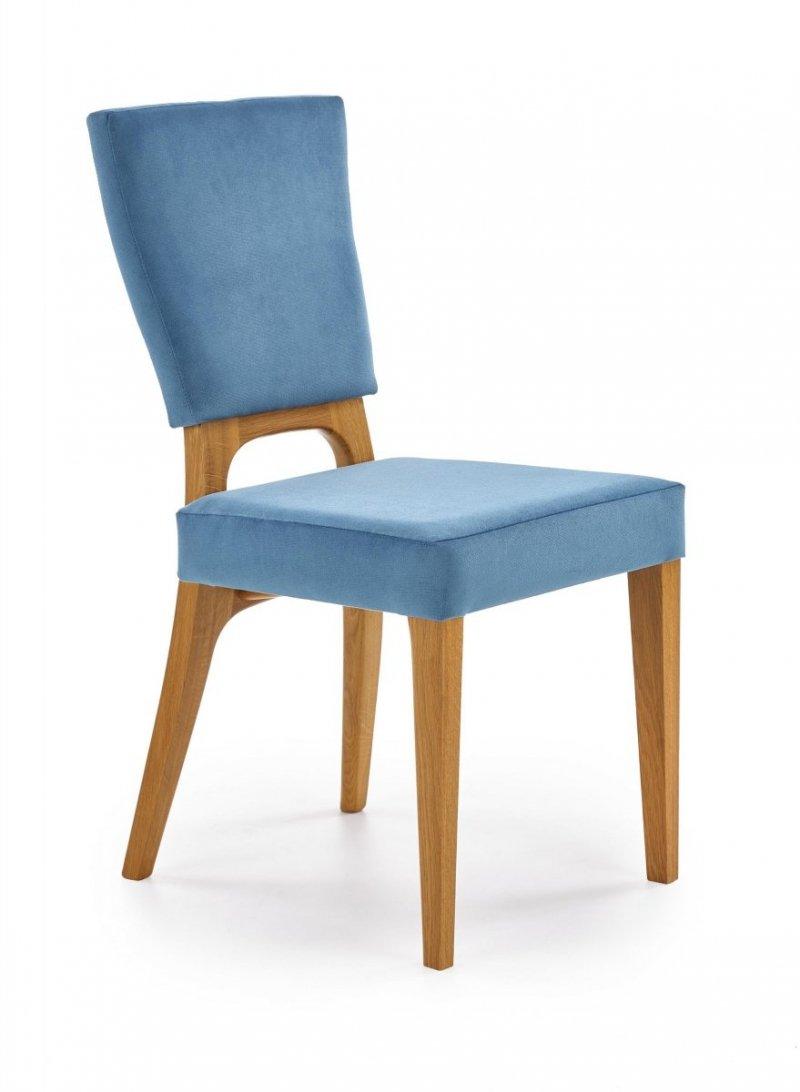 Krzesło WENANTY dąb miodowy/morski