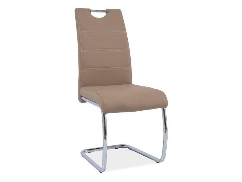 Krzesło H666 ciemno beżowe