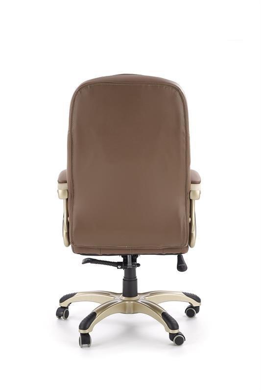 Fotel gabinetowy CARLOS jasny brąz