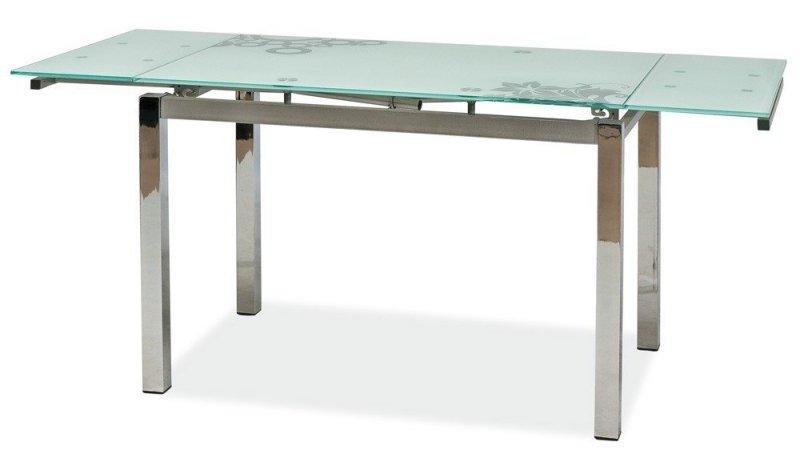 Stół rozkładany GD017 biały/chrom