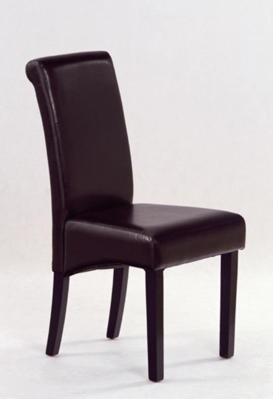 Krzesło NERO wenge/ciemny brąz