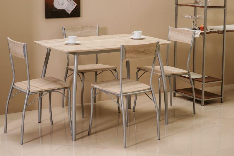 Zestaw MODUS stół + 4 krzesła dąb sonoma