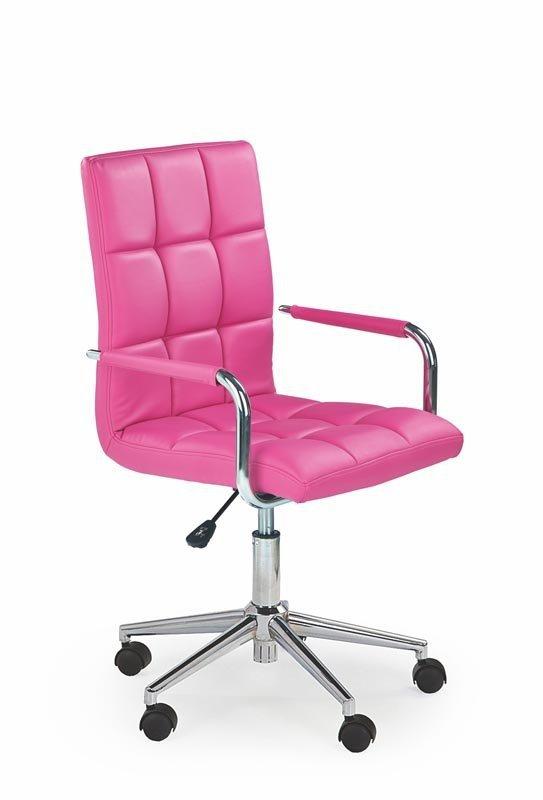 Fotel młodzieżowy GONZO 2 różowy