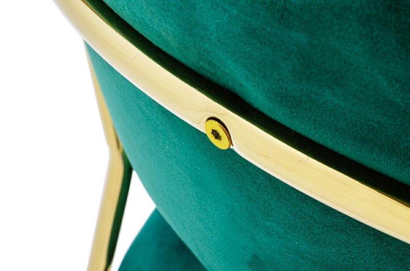 Krzesło MARGO ciemno zielony